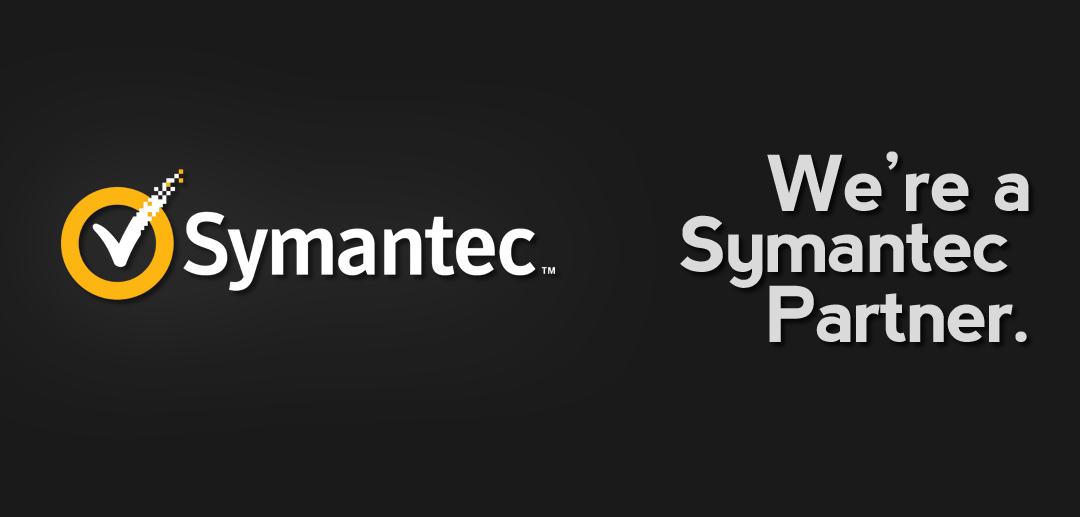 We're a Symantec partner.